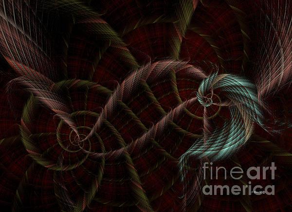 Twisted Kilt Print by Shari Nees