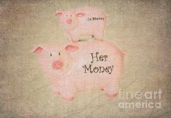 Two Little Piggies Print by Betty LaRue