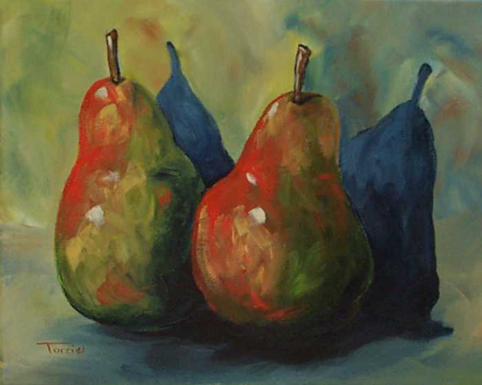 Two Pears  Print by Torrie Smiley