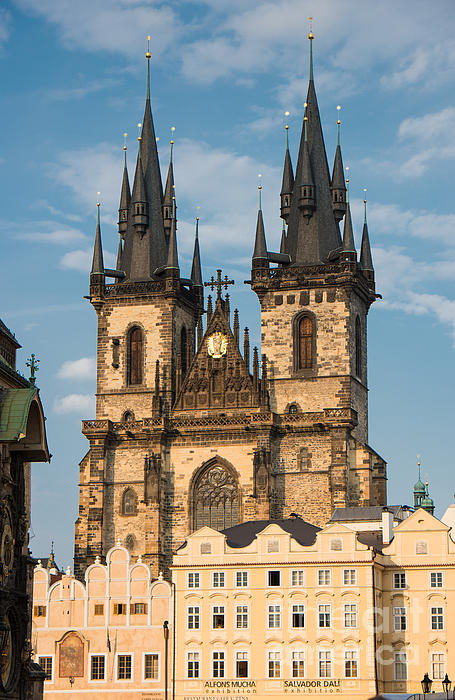 Matthias Hauser - Tyn Church - Old Town of Prague - Czech Republic
