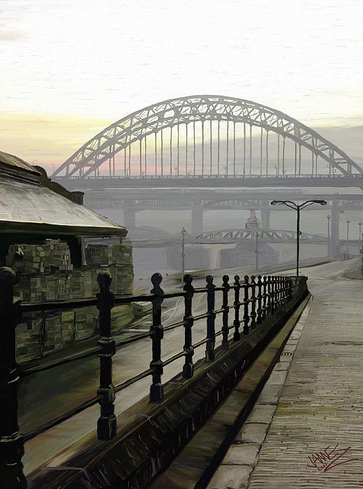 Tyne Bridge Print by James Shepherd