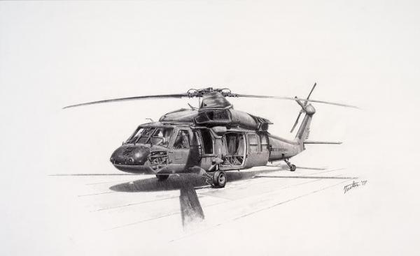 Uh 60 Black Hawk By Andrew Tucker