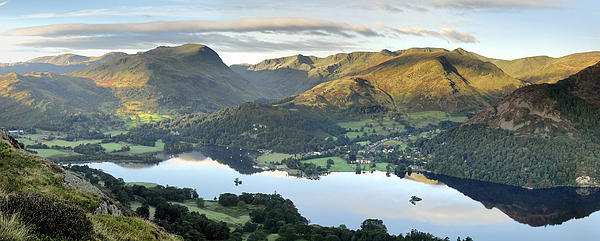 Ullswater From Place Fell Print by Stewart Smith