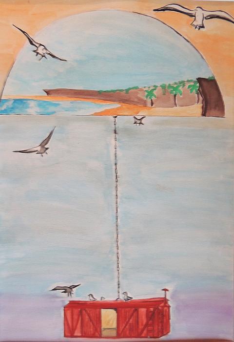 Zoe Kitinoja - Umbrella Beach