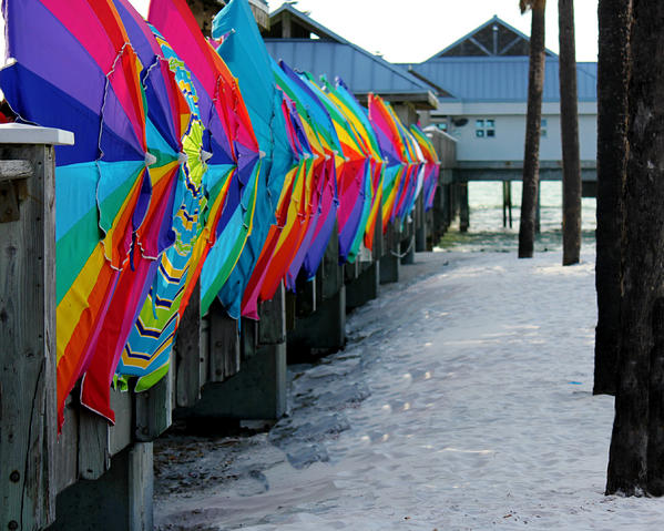Umbrellas Print by Shweta Singh