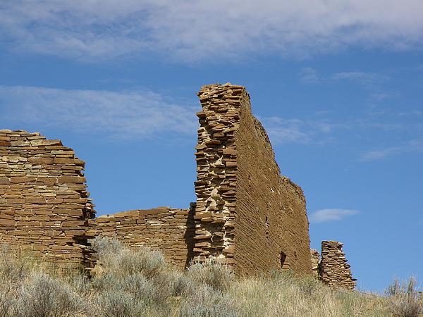 Una Vida Walls At Chaco Print by FeVa  Fotos