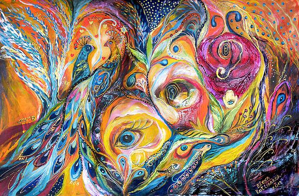 Under Olive Tree Print by Elena Kotliarker