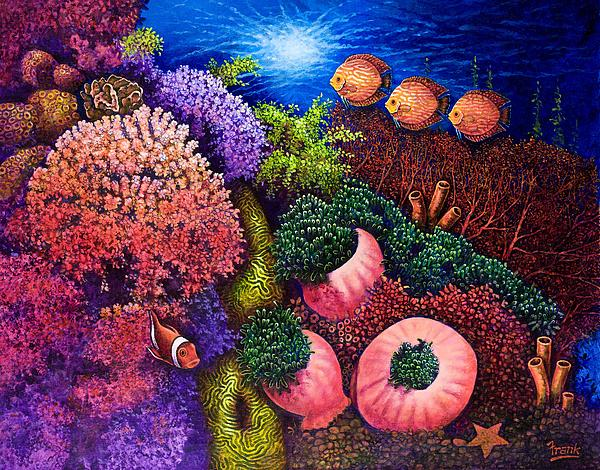 Undersea Creatures III Painting