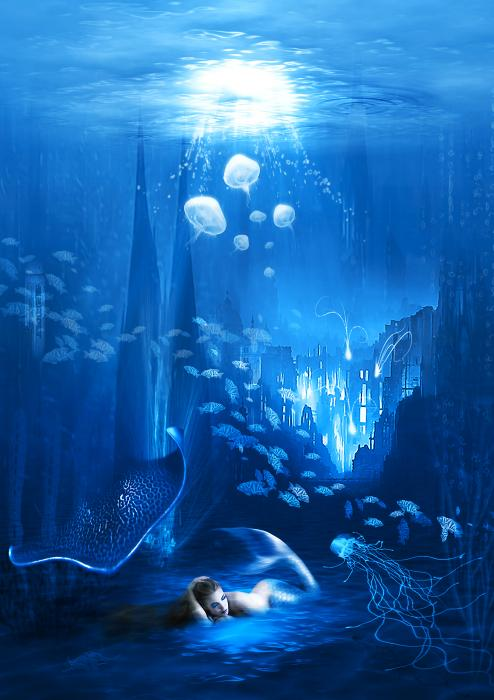 Underwater World Print by Svetlana Sewell