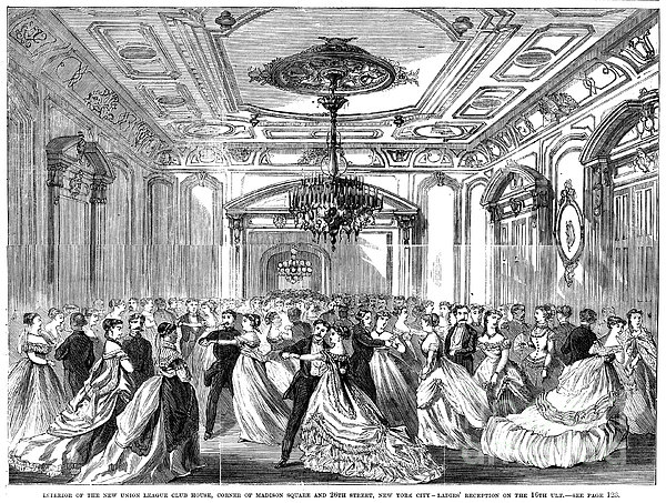 Union League Club, 1868 Print by Granger