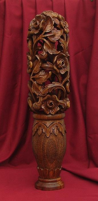 Unique Vase With Flowers Print by Goran