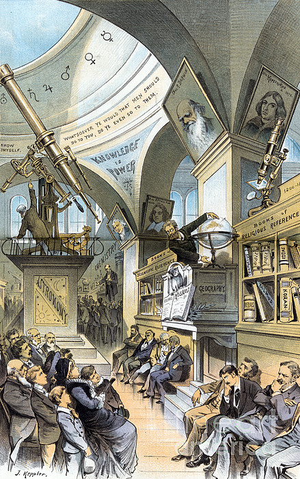 Universal Church Of The Future, 1883 Print by Science Source