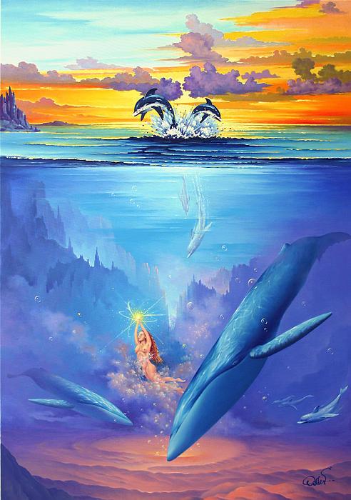 Universal Harmony 2 Painting - Universal Harmony 2 Fine Art Print - Hans ...