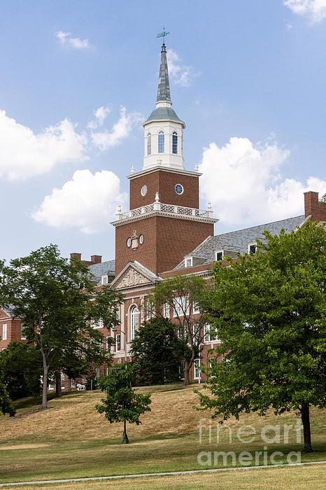 University Of Cincinnati Mcmicken College Print by Paul Velgos