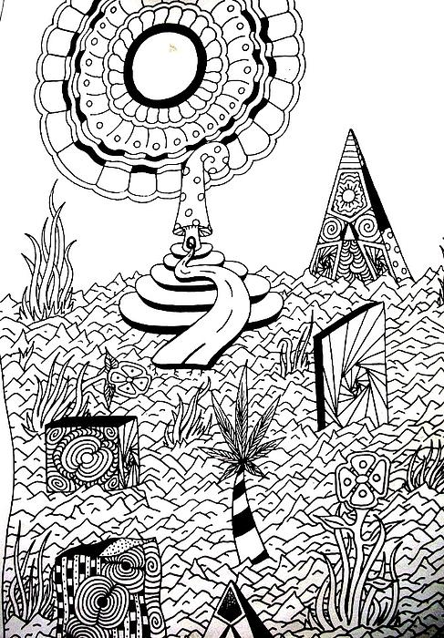 Upland Print by Andrew Padula
