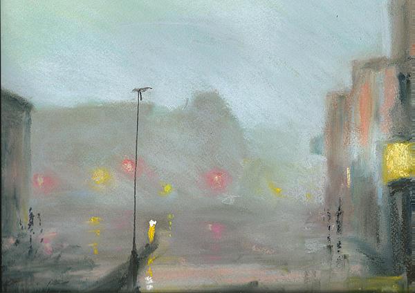 Urban Mist 2 Print by Paul Mitchell