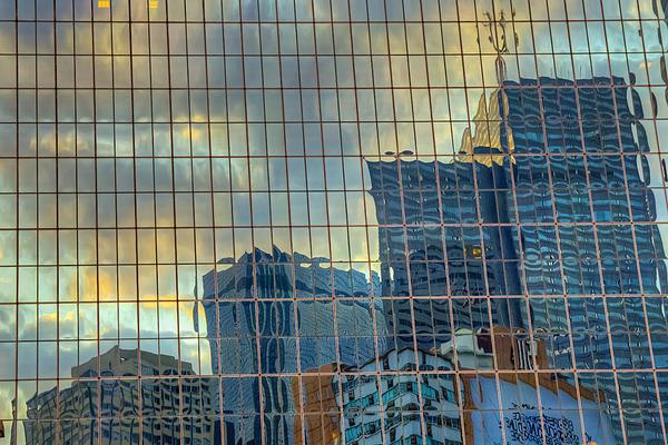 Urban Reflections Print by Drew Castelhano