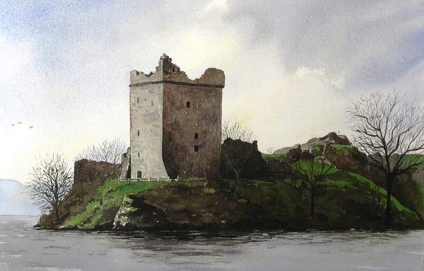 Renata Wright - Urquhart Castle on Loch Ness Scotland