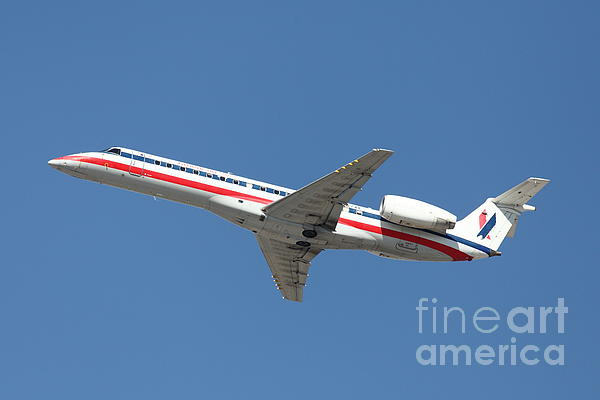 Us Airways Jet Airplane  - 5d18405 Print by Wingsdomain Art and Photography