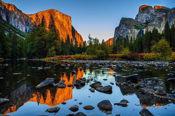 Valley View Yosemite National Park Print by Scott McGuire
