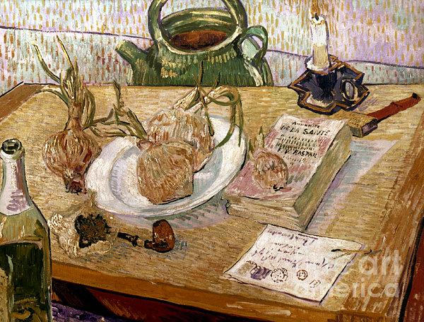Van Gogh: Still Life, 1889 Print by Granger