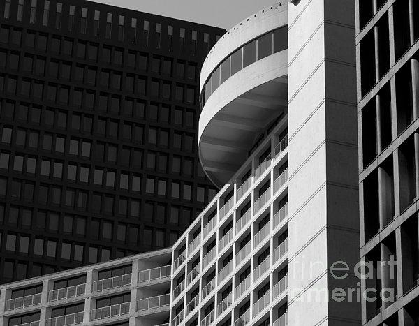 Vancouver Architecture Print by Chris Dutton