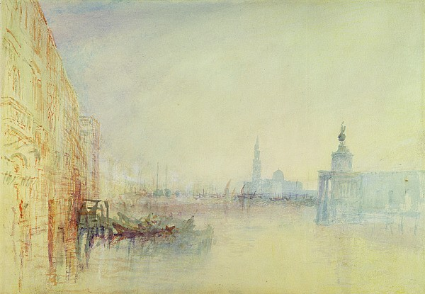 Venice - The Mouth Of The Grand Canal Print by Joseph Mallord William Turner