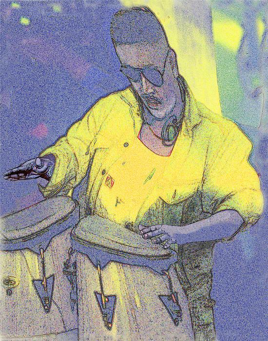 Alice Ramirez - Venice Beach Drummer