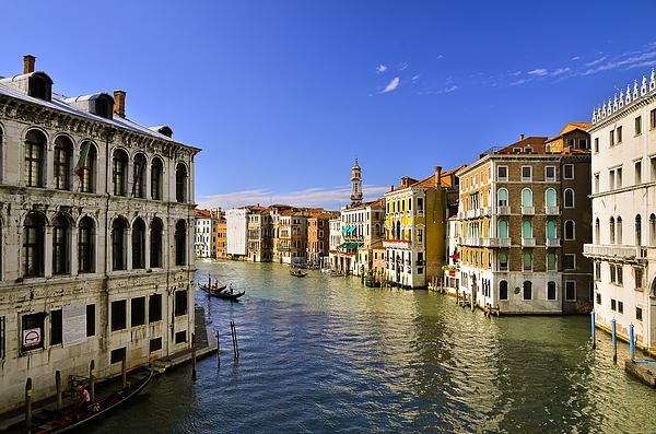 Venice Canale Grande Print by Travel Images Worldwide