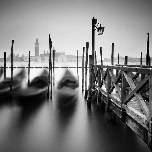 Venice Gondolas II Print by Nina Papiorek