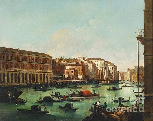 Venice Grand Canal Print by Pg Reproductions