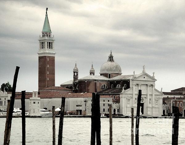 Venice Italy - San Giorgio Maggiore Island - 02 Print by Gregory Dyer