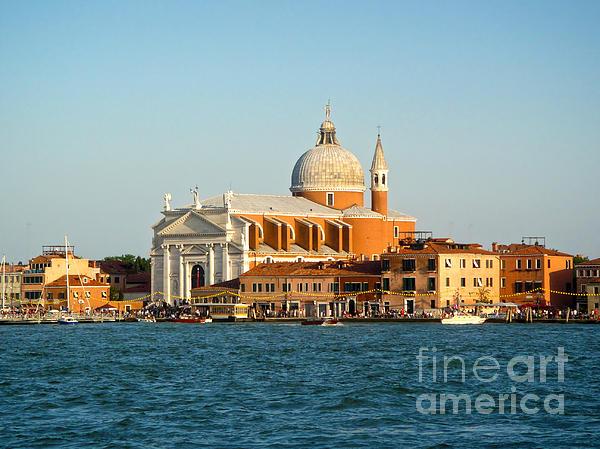 Venice Italy - San Giorgio Maggiore Island Print by Gregory Dyer