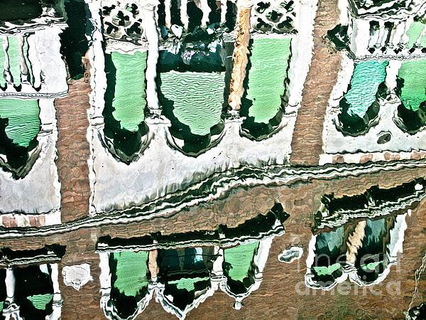 Venice Upside Down 2 Print by Heiko Koehrer-Wagner