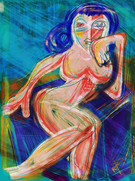 Venus Print by Russell Pierce