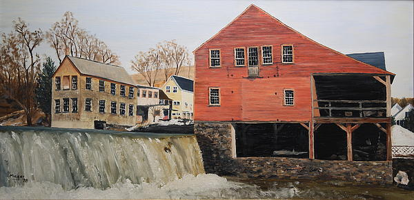 Alan Mager - Vermont Mill Stream