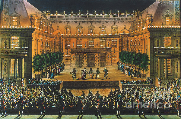 Versailles: Opera, 1676 Print by Granger