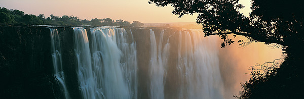 Victoria Falls, Zimbabwe, Africa Print by Jeremy Woodhouse