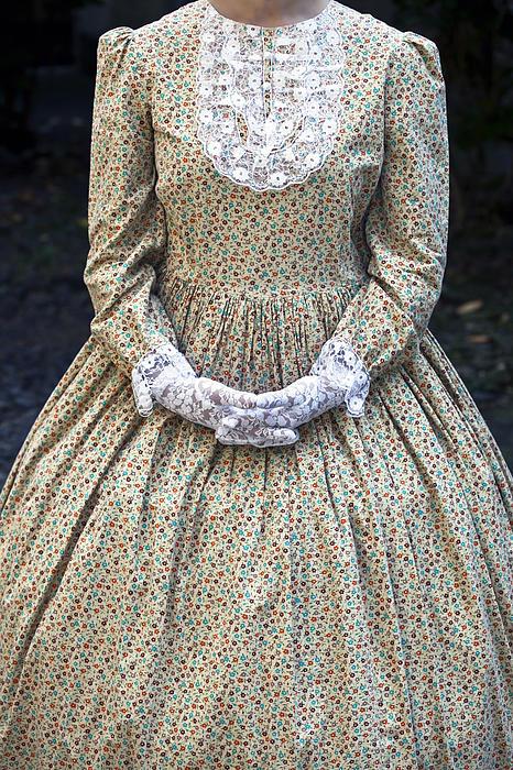 Victorian Lady Print by Joana Kruse