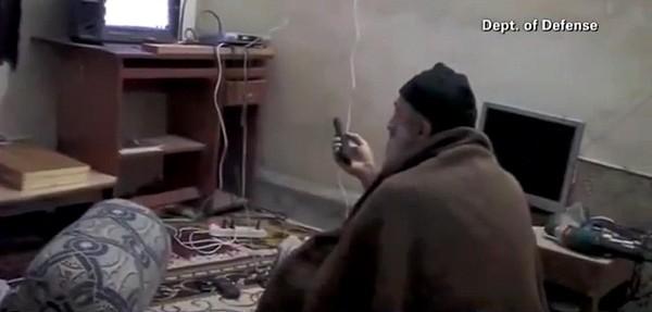 Video Still Of Al Qaedo Terrorist Print by Everett