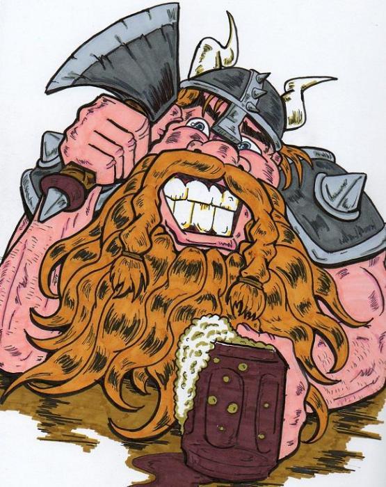 Viking Print by Anthony Snyder
