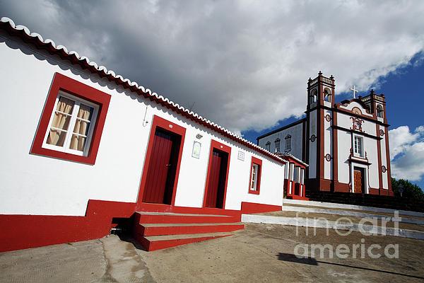 Vila Do Porto - Azores Print by Gaspar Avila