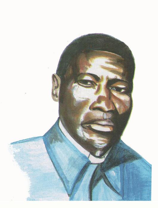 Vincent Mulago Print by Emmanuel Baliyanga