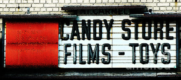 Vintage Candy Store Print by AdSpice Studios