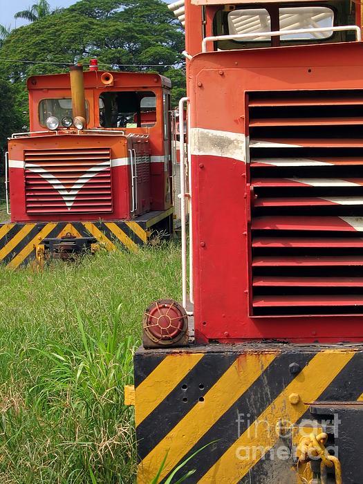 Vintage Diesel Engines Print by Yali Shi