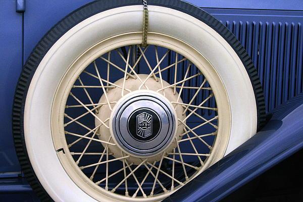 Vintage Nash Tire Print by Kay Novy