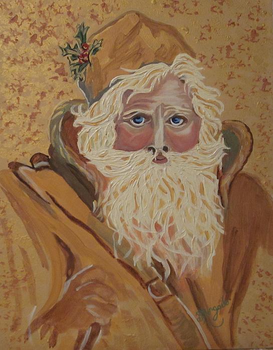 Vintage Santa by Brenda Morgado