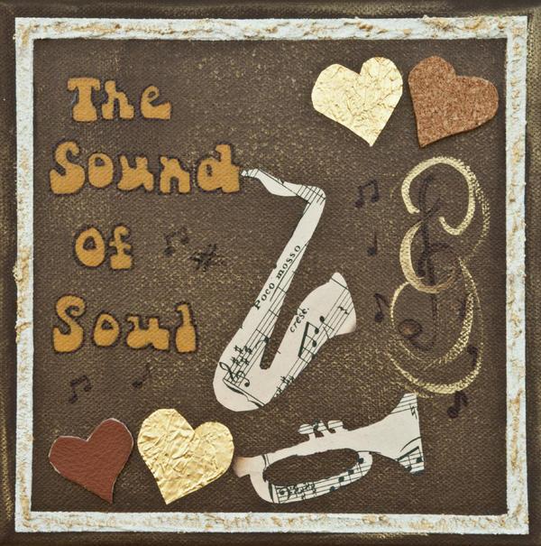 Vintage Soul Music  Print by Alison Quine