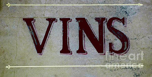 Vintage Vins Print by AdSpice Studios