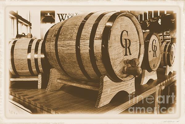Vintage Winery Photo Print by Marsha Heiken